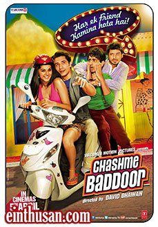 Chashme Baddoor Hindi Movie Online - Ali Zafar, Siddarth, Taapsee Pannu and Divyendu Sharma. Directed by David Dhawan. Music by Sajid Wajid. 2013 [U/A] ENGLISH SUBTITLE