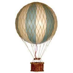 Nostalgischer Heißluftballon / Modellballon: Unbeschwert durch die Lüfte gleiten, grün Ø 18 cm: Amazon.de: Spielzeug