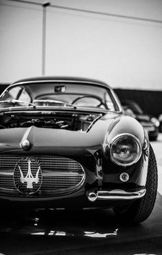 Constructed with the utmost attention to detail, every Maserati is a true masterpiece of Italian design. Here are 51 stunning Maserati cars! Maserati Car, Ferrari 458, Lamborghini Supercar, Bmw Classic Cars, Classic Auto, Classic Style, Classy Cars, Car Wheels, Car Wallpapers
