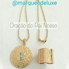 Lindos acessórios com a oração do Pai Nosso!   Site: http://www.marqueedeluxe.com.br/  Insta: @marqueedeluxe  Pinterest: Marquee de Luxe  Whats: 4298023838
