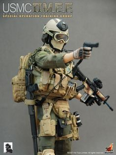 USMC II MARINE EXPEDITIONARY FORCE | HOT TOYS CHATTERBOX