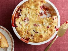 Ina Garten's Easy Cranberry and Apple Cake  #Thanksgiving #ThanksgivingFeast #Dessert