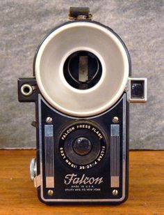 Falcon Press Flash camera, also manufactured as the Spartus Press Flash and the Regal Flashmaster