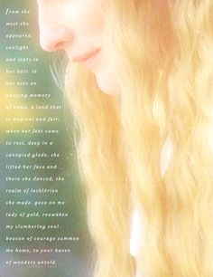 Galadriel, This is lovely...