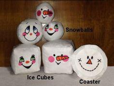 Snowman Faces Machine Embroidery Designs http://www.designsbysick.com/details/snowmanfaces