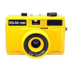 {HolgaGlo 135BC Solar Yellow} Holga - my favourite go-to lomography camera! (I have this exact one)