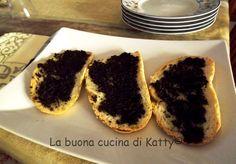 La buona cucina di Katty: Crostini al tartufo nero