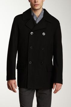 Nautica Double Breasted Coat by Buffalo & Nautica on @HauteLook