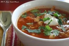 Simple South of the Border Soup