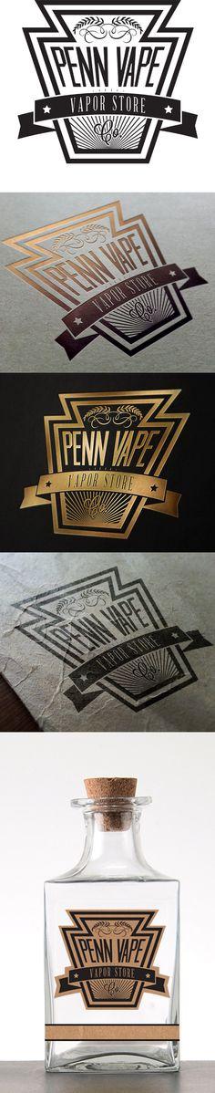 Penn Vape Logo Design on Behance