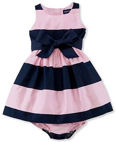 Ralph Lauren Baby Girls' Sateen Dress