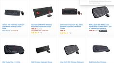 Check Out Discounts on Wireless Keyboard Mouse Combo on Amazon India