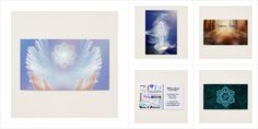 Spiritual Metaphysical Business Cards