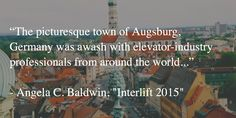 Don't miss the extensive coverage of Interlift 2015 found in the January issue of ELEVATOR WORLD. #Interlift #elevator #escalator #movingwalk #expo #Augsburg #Germany
