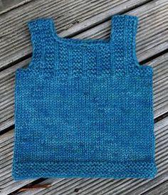 Tiny Trees Vest - lovely simple vest