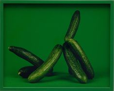 Elad Lassry, Persian Cucumbers, Shuk Hakarmel, C-print Still Life Photography, Creative Photography, Art Photography, Modern Words, Persian Cucumber, Color Collage, Photography Illustration, A Level Art, Eat To Live