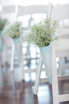 Photos Courtesy of Karen Allen Photography Venue: Bristow Manor Golf Club Florals: Twinbrook Floral Design Blue Wedding Arrangements, Free Wedding, Wedding Flowers, Floral Design, Pastel, Chair, Plants, Photos, Photography