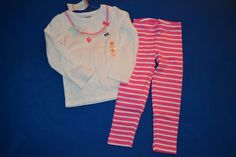 NWT Gymboree 3T Girl's Two Piece Striped Outfit Set #Gymboree #Everyday