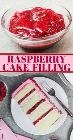 Frosting Recipes, Cake Recipes, Dessert Recipes, Cupcake Filling Recipes, Cake Frosting Tips, Cake Decorating Frosting, Decorating Cakes, Raspberry Cake Filling, Cake With Filling