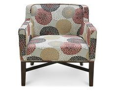 Accent Chairs-Marsala Accent Chair-Rich wine tones and sleek lines