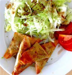Exquisito Vegetariano!: Samosas de garbanzos y tofú