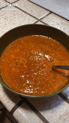 Hot Salsa Recipes, Mexican Salsa Recipes, Fresh Tomato Recipes, Spicy Recipes, Simple Mexican Salsa Recipe, Street Taco Salsa Recipe, Mexican Restaurant Salsa, Red Taco Sauce Recipe, Chili Salsa Recipe