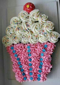 Tartas de Cupcakes