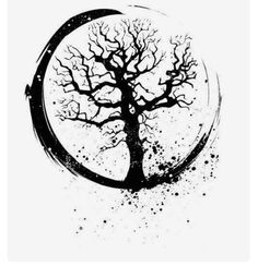 Wrong kind of tree but I dig the circle