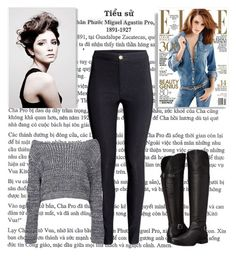 """""""ready for winter"""" by chap15906248 ❤ liked on Polyvore featuring H&M, Boohoo, Naturalizer and Angelo"""