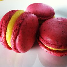 French Macaroons with Raspberry-Rose Buttercream - Bon Appétit