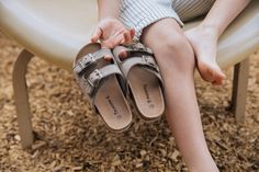 Little ones deserve comfy feet too! Brooklyn sandals make the perfect gift for summer sweeties.