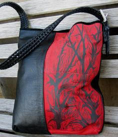 Recycled Leather Purse