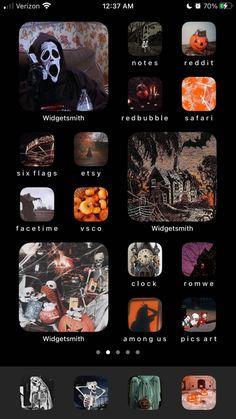 Iphone Wallpaper App, Pics Art, Facetime, Homescreen, Halloween, Layouts, Ios, Backgrounds, Wallpapers