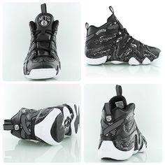 Adidas Crazy 8  Brooklyn Nets  black white Adidas Basketball Shoes, White  Nikes 0092e175e56