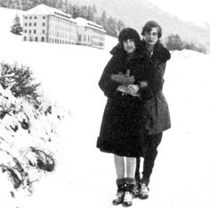 Annemarie Schwarzenbach and Mädy Hosenfeldt