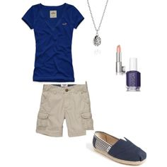 blue, created by stefdex on Polyvore