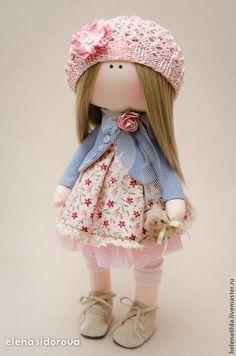 Коллекционные куклы ручной работы. Ярмарка Мастеров - ручная работа Lilu повтор с изменениями. Handmade.