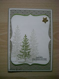 Weihnachtliche Karte