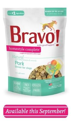 Bravo freeze dried pork dog foods use raw pork as the ingredient plus organ meat, garden vegetables and cranberries. Freeze dried for freshness, convenience and flavor. Made in the USA, tested for food safety before shipping. Freeze Dried Meat, Freeze Drying, Natural Dog Food, Natural Herbs, Food Stands, Dry Dog Food, Pet Food, Food Safety, Grain Free