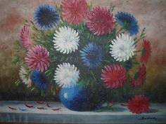 www.svetstarozitnosti.sk Antique Pictures, Summer Flowers, Cameras, Antiques, Painting, Art, Antiquities, Art Background, Antique