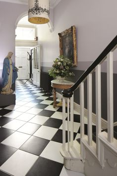 Winner Sarah Moore's winning makeover of the hallway from BBC2's The Great Interior Design Challenge as seen in The Times today.