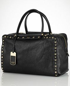 Lauren Ralph Lauren Mortimer Satchel - Handbags & Accessories - Macy's