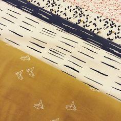 Atelier Brunette fabrics collection at La mercerie Parisienne