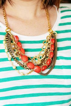 Styled by Tori Spelling DIY Jewelry Review on Crafts Unleashed from Lovely Little Snippets