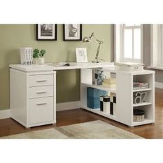Coaster Furniture Yvette Office Desk - Whether personal or professional in nature, you'll enjoy completing your next project at the Coaster Furniture Yvette Office Desk . This utilitarian...