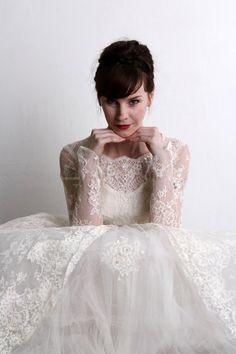 1950s Wedding Dress . \\ VeraVague //