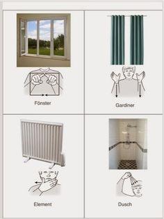 Tecken som stöd: Möbler