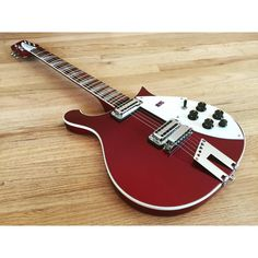 Rickenbacker Guitar, Mike And Mike, Body Electric, Vintage Guitars, Guitar Amp, Ruby Red, Bass Guitars, Cleaning, Bar