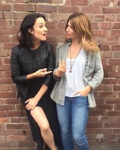 regram @carmilla.creampuff NATASHA'S LEGS ELISE'S HAIR THEIR ADORABLENESS (if thats a word) THEY LOOK LIKE THEY ARE DATING. THEY ARE STANDING WAY CLOSER TO EACH OTHER THAN THEY NORMALLY DO ELISE'S HAND ON NATASHA'S WAIST (previous video) ELISE CALLING NATASHA BABY JAJNSHDBS  THESE DAYS THEY ARE JUST SERIOUSLY ACTING LIKE GIRFRIENDS