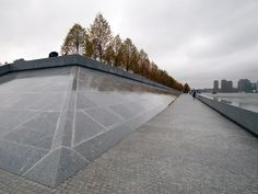 http://www.designboom.com/architecture/louis-kahn-fdr-four-freedoms-park-in-new-york/